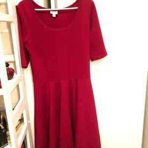 New RED lularoe Nicole dress